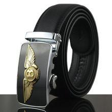 2016 New Men Belt For Jeans Luxury Belt Real Cowskin Leather Automatic Buckle Belt Strap Mens Designer Belts military belt Q209 //Price: $US $9.35 & Up To 18% Cashback // #steampunktendencies