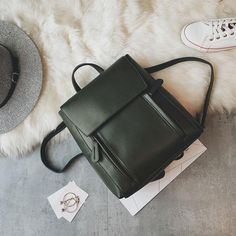 Cheap Retro Elegant Large Multi-function Shoulder Bag Student Bag School Backpack For Big Sale! Cute Backpacks, Girl Backpacks, School Backpacks, Aztec Bag, Cute School Bags, Womens Purses, Travel Backpack, Leather Backpack, Purses And Bags