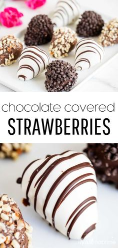 These chocolate covered strawberries are the perfect dessert to make for your sweetheart for Valentine's Day! #chocolate #chocolatecoveredstrawberries #chocolatestrawberries #strawberries #strawberry #fruitdesserts #chocolatedipped #chocolatecovered #desserts #easydesserts #valentines #valentinesday #valentine #valentinesdesserts #recipes #iheartnaptime Chocolate Dipped Fruit, Best Chocolate Desserts, Chocolate Covered Strawberries, Small Desserts, Easy Desserts, Delicious Desserts, Dessert Recipes, Homemade Chocolate Frosting, Homemade Ice Cream