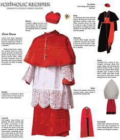 Vestments and symbols of the Office of the Cardinal