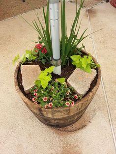 Planter Umbrella Stand