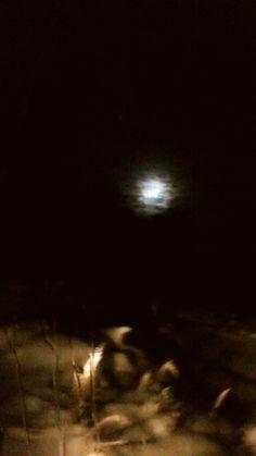Luna de invierno #moon #ushuaia