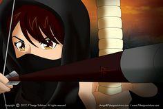 #illustration #manga #mangaillustration #drawing #ninja #ninjagirl #fighter #illustrator #photoshop #anime #art #bowandarrow #archery #arrow #martialarts #training #fighting #kungfu #martialartist #2ddrawing #vector #girl #femalefighter #karate #bjj #wingchun #taichi #stretching #excercise