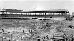 Construction of Wrigley Field