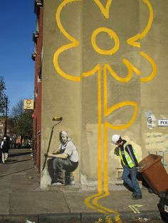Banksy here, Banksy there :)
