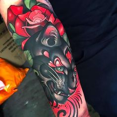 i0.wp.com www.ecstasycoffee.com wp-content uploads 2016 09 Black-and-red-beautiful-panther-with-rose-sleeve..jpg