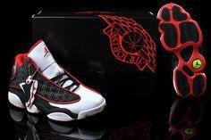new jordan black red white 2014 | 13 white red black [Women Air Jordans 13] - $89.00 : New Jordans 2014 ...