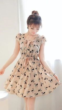 Trendy Ideas For Style Girl Fashion Sweets Lovely Dresses, Stylish Dresses, Casual Dresses, Short Dresses, Girls Dresses, Summer Dresses, Chiffon Dresses, Toddler Girl Dresses, Frock Fashion