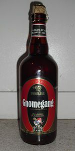 Gnomegang, Belgian Strong Pale Ale, Brewery Ommegang   Cooperstown, New York 9.5%ABV