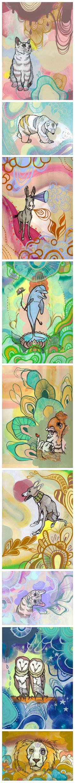 Moya moya animals by MERRY