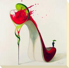 Inna Panasenko Shoe Art
