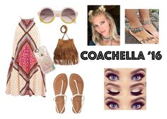 """Coachella '16"" by jessgray-jg on Polyvore featuring MINKPINK, Casetify and Aéropostale"