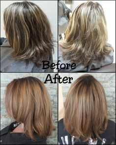 Lovely before & after by A Glo's Laura