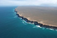 The Bunda Cliffs of Australia--the edge of the world.