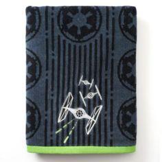 Star Wars Tie Fighter Bath Towel