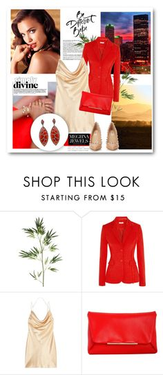 """""""MEGHNA JEWELS - BORA BORA COLLECTION"""" by elly-852 ❤ liked on Polyvore featuring Balmain, Pier 1 Imports, National Geographic Home, Avon, Altuzarra, Yves Saint Laurent, Lanvin, Valentino, Bora Bora and jewelry"""