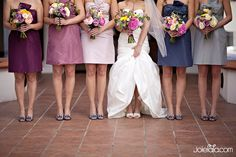 oh hey @Callie Snyder - ombre bridesmaids starting out in your color if you still have problems finding dresses