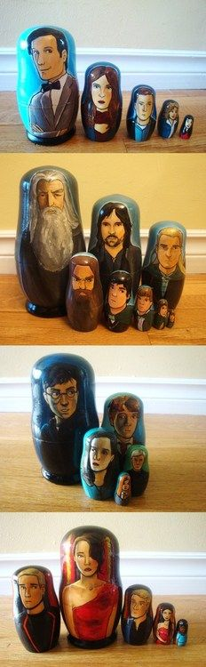 Doctor who, lotr, and harry potter are awesome!