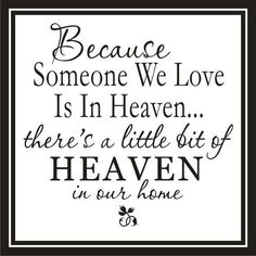 For my relatives who now reside in Heaven