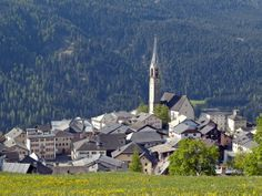 Sent, Unterengadin, Schweiz