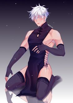 Anime Guy Tied Up