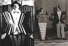 Costumes for 1920s play directed by Tristan Tzara