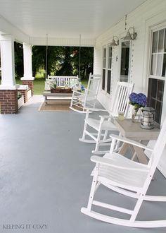 Valspar Satin Porch & Floor Paint Light Gray