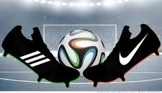 Adidas and Nike will face off on the advertising field when the World Cup begins June Ambush Marketing, Soccer World, Fifa World Cup, Soccer Players, Art World, Ads, Advertising, How To Plan, Nike