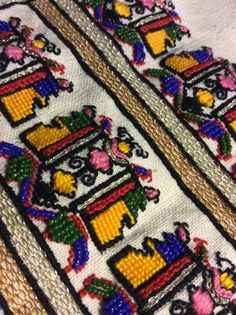Romanian blouse detail