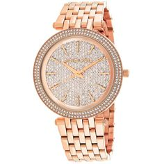 Brand name: Michael Kors Model number: Color: Rose Gold Case Size: 39 mm Case Thickness: 7 mm Band Width: 14 mm Water Resistant: 5 ATM Michael Kors Rose Gold, Michael Kors Watch, Gold Box, Stainless Steel Watch, Gold Watch, Bracelet Watch, Jewelry Accessories, Watches, Bracelets