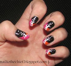 Could probably do these fancy nails