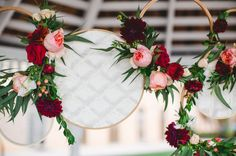 embroidery frames & garland - clever