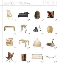 SCORPIOS MYKONOS decoración, ideas para la casa, On top - Macarena Gea