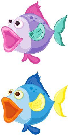 love the fish lips Cartoon Clip, Cartoon Fish, Cartoon Drawings, Cute Cartoon, Animal Drawings, Cartoon Sea Animals, Fish Quilt, Ceramic Fish, Applique Patterns