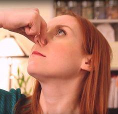 Zit je neus verstopt? Met deze handige truc adem je binnen een paar minuten weer…