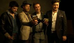 Mumford and Sons with their Grammys!!!