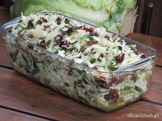 Surówka teściowej w 5 minut Best Salad Recipes, Raw Food Recipes, Diet Recipes, Vegetarian Recipes, Cooking Recipes, Healthy Recipes, Vegetable Salad, Vegetable Recipes, Veggie Dishes