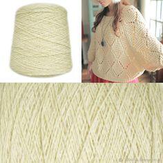 Купить Мериносовая шерсть - мериносовая шерсть, итальянская пряжа, бобинная пряжа, пряжа натуральная