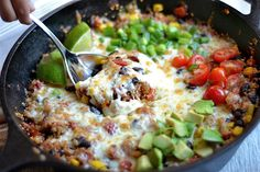 A one pan skillet meal that is so simple to make, everything cooks together perfectly! Nutritious, light, and perfect for Taco Tuesday or even a hearty lunch. I have introduced Taco Tuesday to Meatless Monday, and they are now a great pair! I love this vegetarian version of tacos that is so filling, and absolutely...Read More »