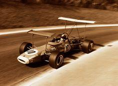 Jean-Pierre Beltoise - Matra MS7 Cosworth FVA - Matra International - XXIX Grand Prix Automobile de Pau 1969