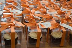 cupcake #favors. #wedding #party