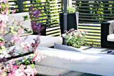patio by sommerjenten Outdoor Sofa, Outdoor Spaces, Outdoor Furniture Sets, Outdoor Decor, Garden Living, Blog Design, Go Outside, The Outsiders, Patio