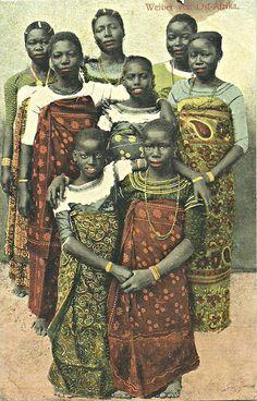 Women of Tanganyika c1910
