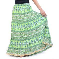 Womens Long skirts available at Mirraw.com