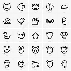 animal icon - Google 搜索