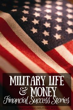 Military Life & Money: Financial Success Story of Jennifer and Michael. An extremely inspirational story of a young military family with big financial goals! Military Love, Military Spouse, Military Retirement, American Prayer, Financial Success, Financial Planning, Navy Life, Money Management, Personal Finance
