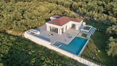 The beautiful, relaxing environment of Drallos Luxury Villa, in Zakynthos island (Zante) Greece Holiday Accommodation, Luxury Villa, Evergreen, Swimming Pools, Greece, Environment, Relax, Island, Mansions