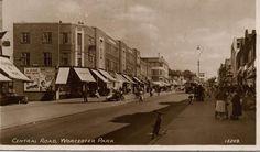 Central Road, Worcester Park KT4.