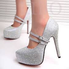 Resultado de imagen para zapatos cerrados novia