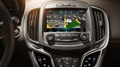 Opt for IntelliLink with Navigation in your 2015 LaCrosse luxury midsize sedan and access real-time traffic data, directions and more.